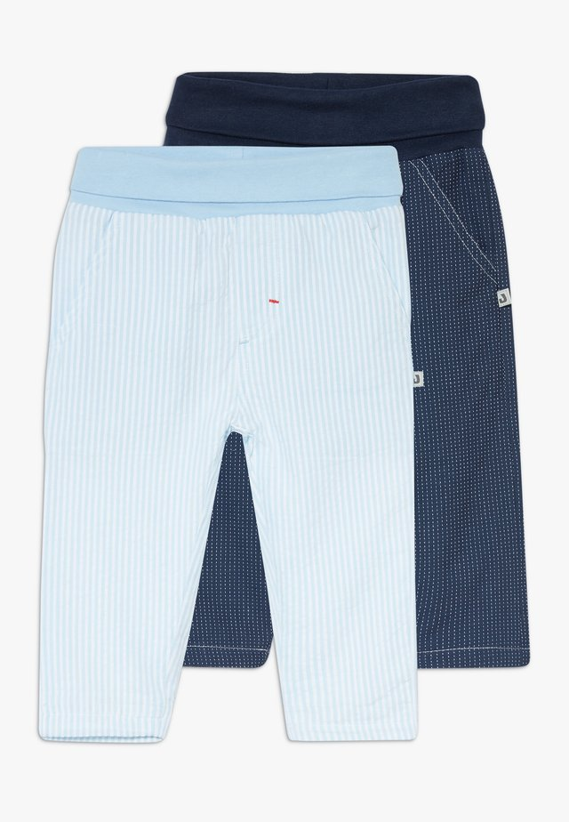 CLASSIC BOYS 2 PACK - Trousers - dark blue
