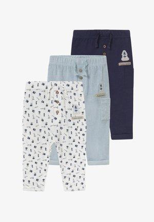 MON PETIT 3 PACK - Kalhoty - light blue