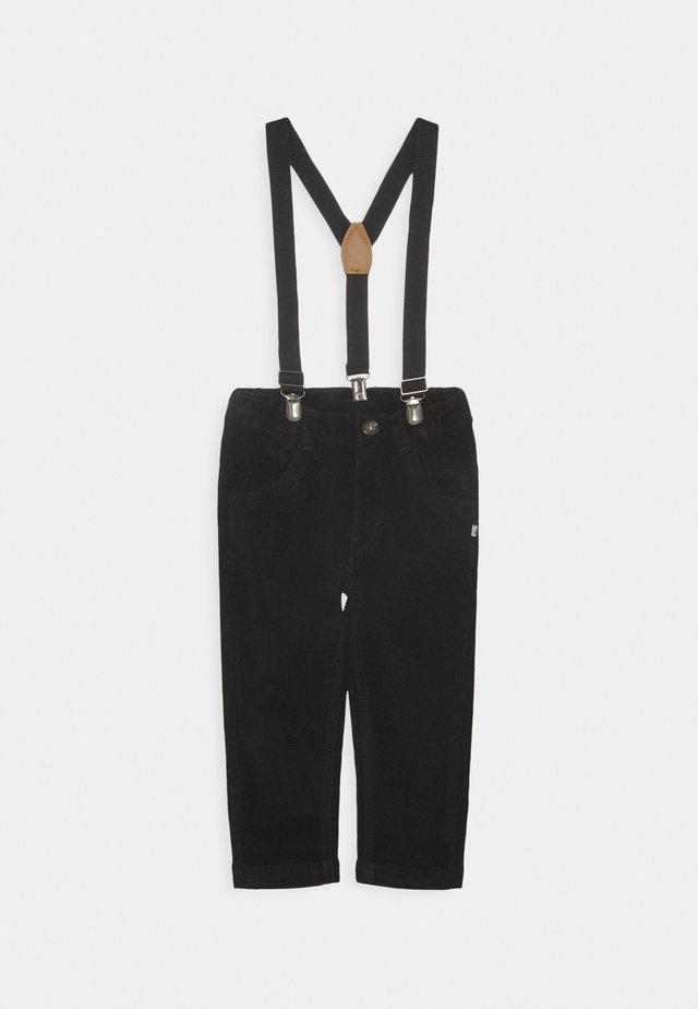 CLASSIC BOYS - Trousers - schwarz