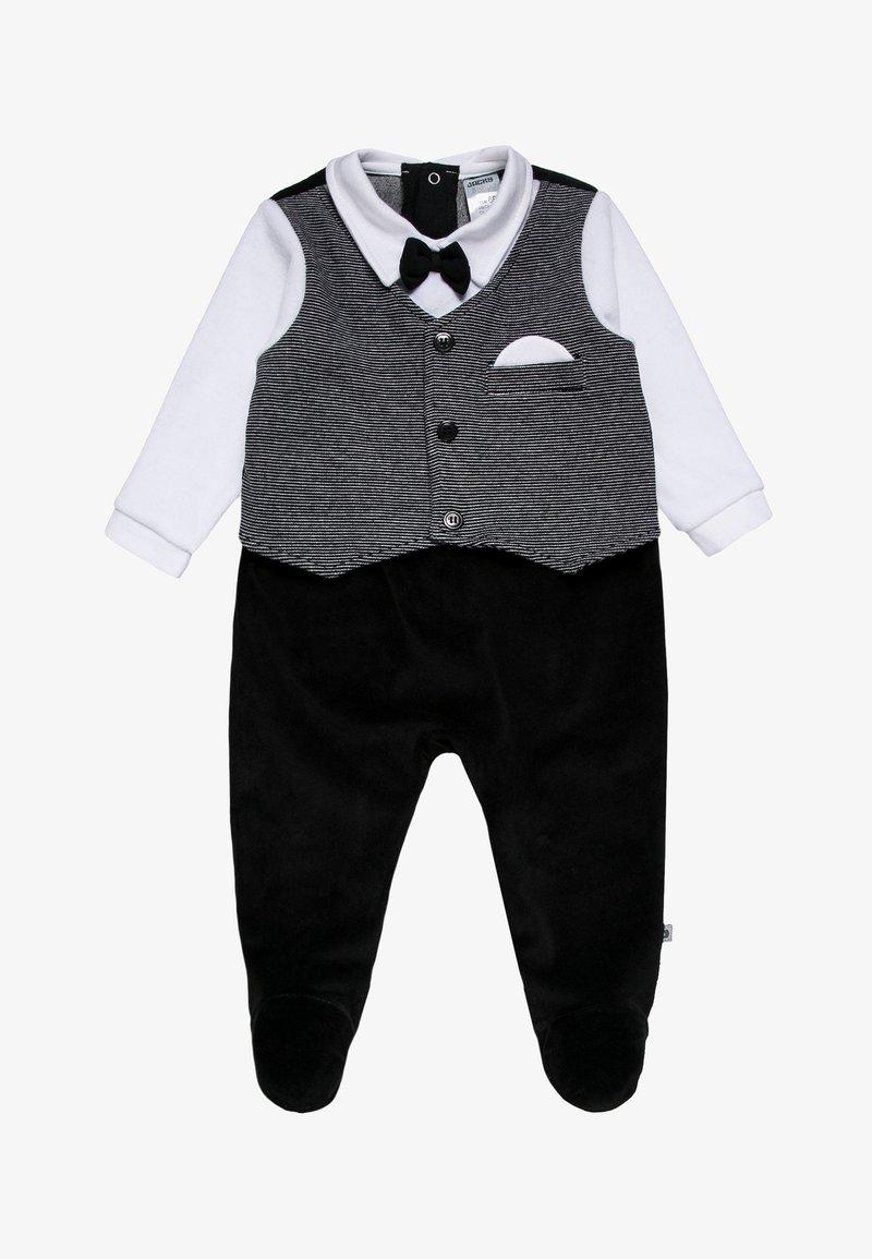 Jacky Baby - WAGENANZUG CLASSIC - Dupačky na spaní - black
