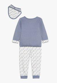 Jacky Baby - HAUNTED FOREST SET - Šátek - jeans blau - 1