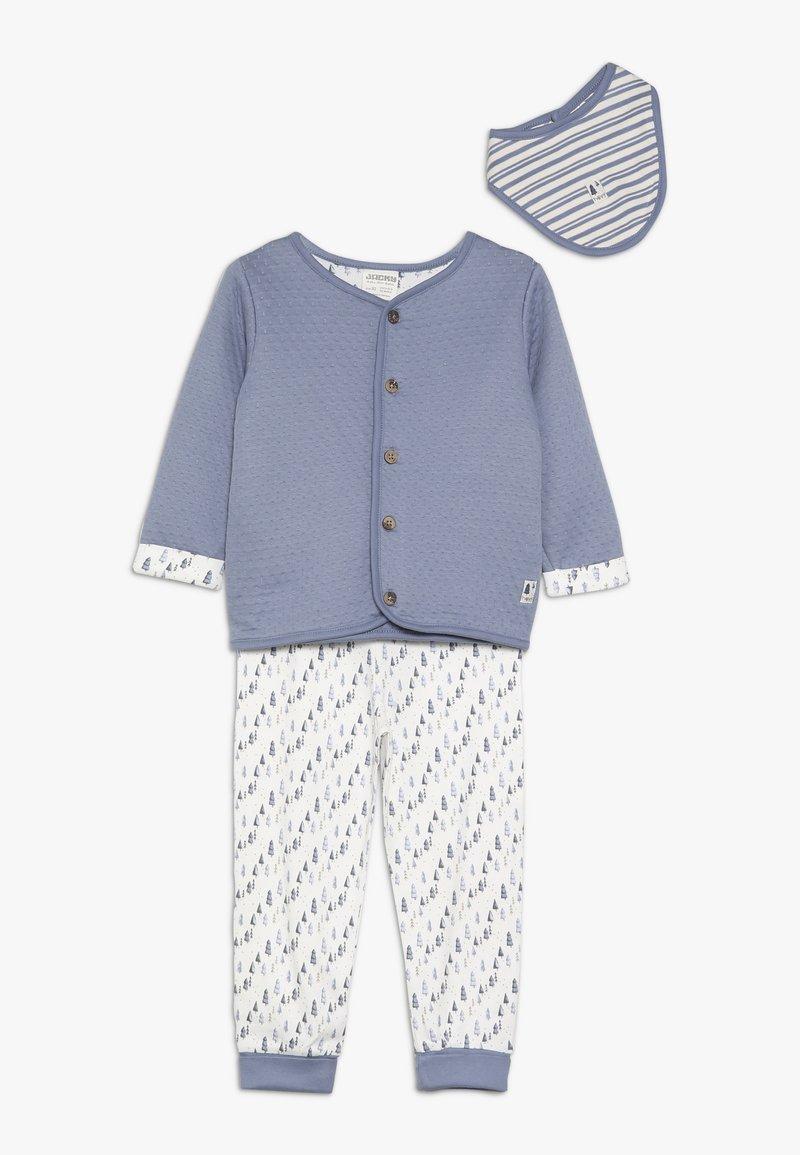 Jacky Baby - HAUNTED FOREST SET - Šátek - jeans blau