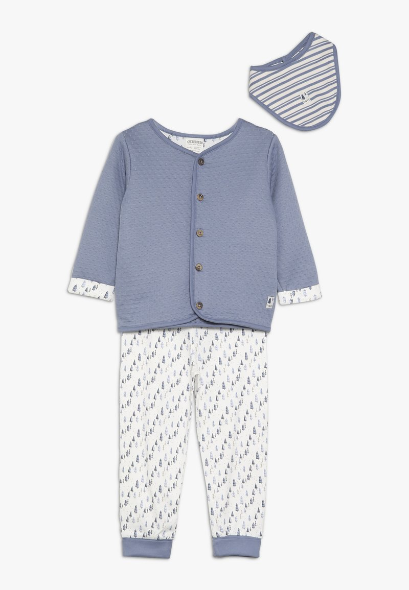 Jacky Baby - HAUNTED FOREST SET - Tuch - jeans blau