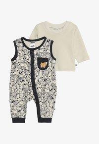 Jacky Baby - LAUFHOSEN ADVENTURE SET - Jumpsuit - allover/sand - 3