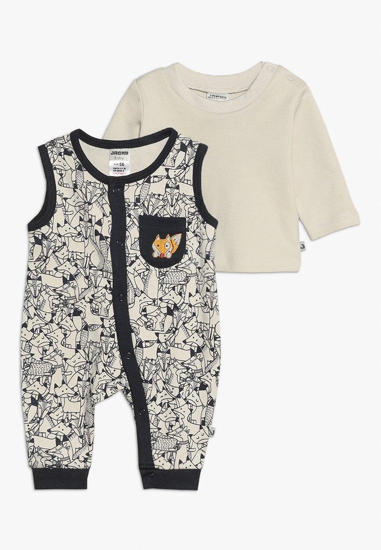 Jacky Baby - LAUFHOSEN ADVENTURE SET - Jumpsuit - allover/sand