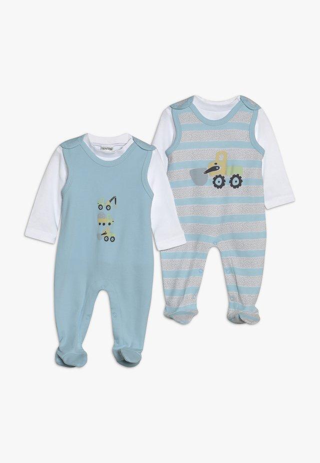 BOYS 2PACK - Sleep suit - blue
