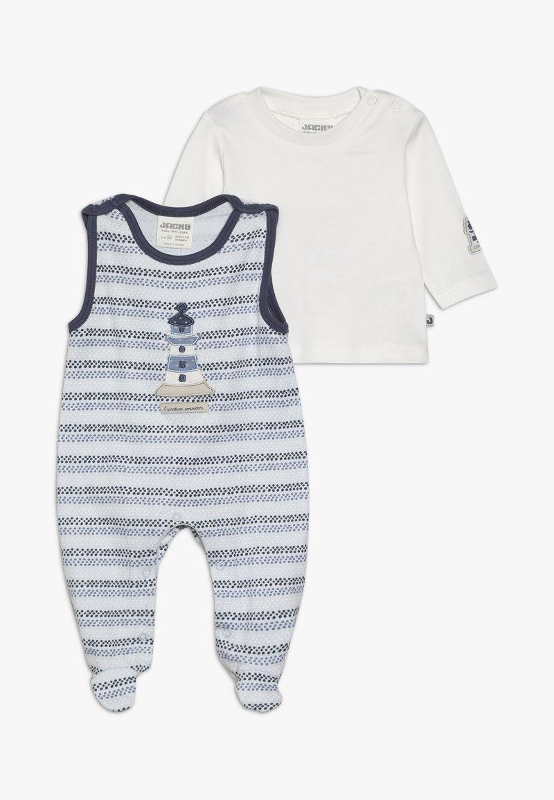 Jacky Baby - COUCOU MON PETIT SET - Grenouillère - off white