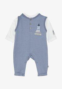 Jacky Baby - LAUFHOSEN SET - Jumpsuit - blau/off-white - 3