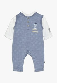 Jacky Baby - LAUFHOSEN SET - Jumpsuit - blau/off-white - 0