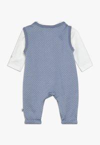 Jacky Baby - LAUFHOSEN SET - Jumpsuit - blau/off-white - 1