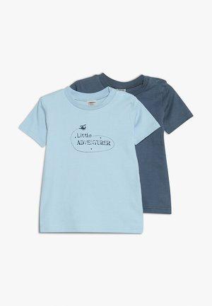 BOYS BABY 2 PACK - T-shirt imprimé - bunt