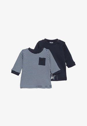 BOYS 2 PACK - Camiseta de manga larga - blue