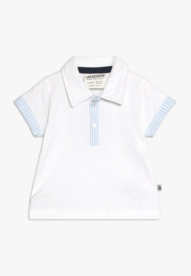 KURZARMCLASSIC BOYS - Poloskjorter - weiß