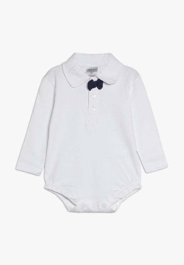 LANGARM SCHLEIFE BASIC BABY - Long sleeved top - white/navy