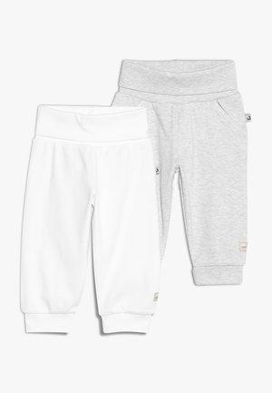 2 PACK - Pantalones - off white/grey