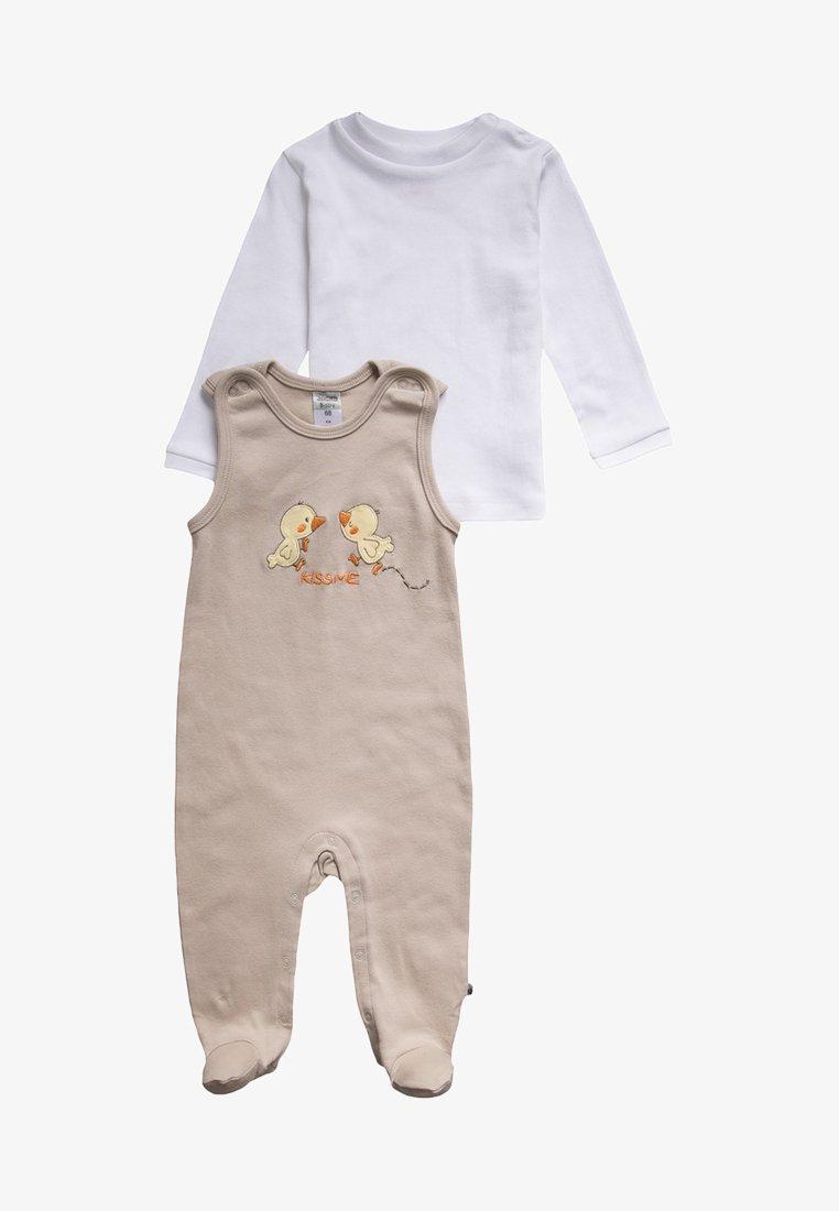 Jacky Baby - SET - Strampler - beige/weiß