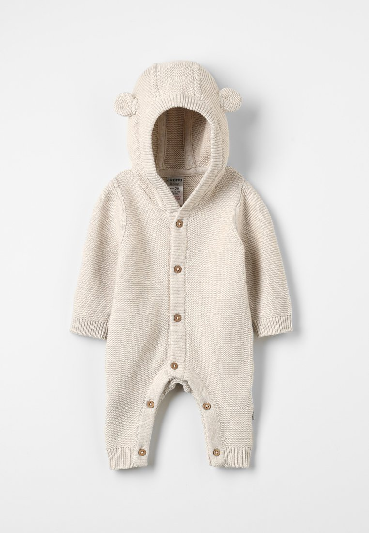 Jacky Baby - HELLO WORLD - Jumpsuit - beige melange