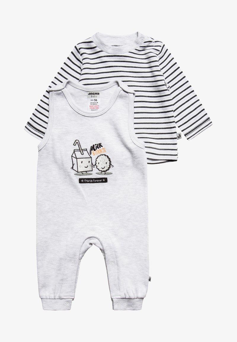 Jacky Baby - COOKIE SET - Tuta jumpsuit - hellgrau-melange