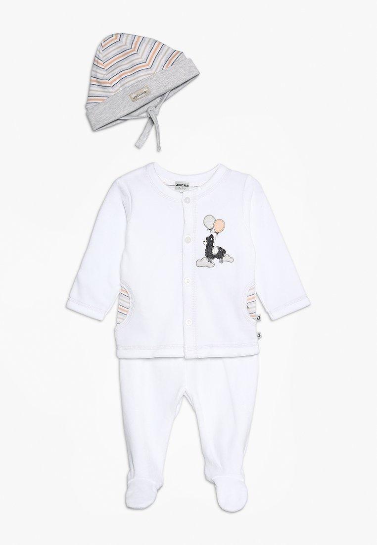 Jacky Baby - LUFTBALLON SET - Čepice - off white