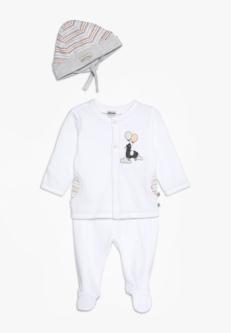 Jacky Baby - LUFTBALLON SET - Beanie - off white