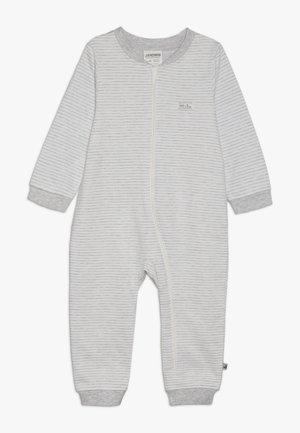 OVERALL MAKE A WISH - Tuta jumpsuit - hellgrau melange/off white