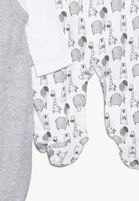 Jacky Baby - UNISEX SET 2 PACK - Babygrow - grey - 4