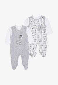 Jacky Baby - UNISEX SET 2 PACK - Babygrow - grey - 5