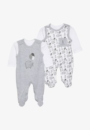 UNISEX SET 2 PACK - Strampler - grey