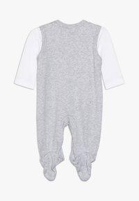 Jacky Baby - UNISEX SET 2 PACK - Babygrow - grey - 1