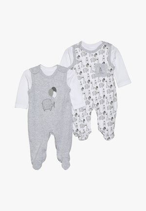 UNISEX SET 2 PACK - Tutina - grey