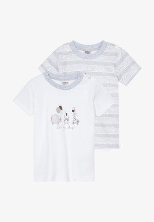 UNISEX 2 PACK - T-shirt imprimé - grey