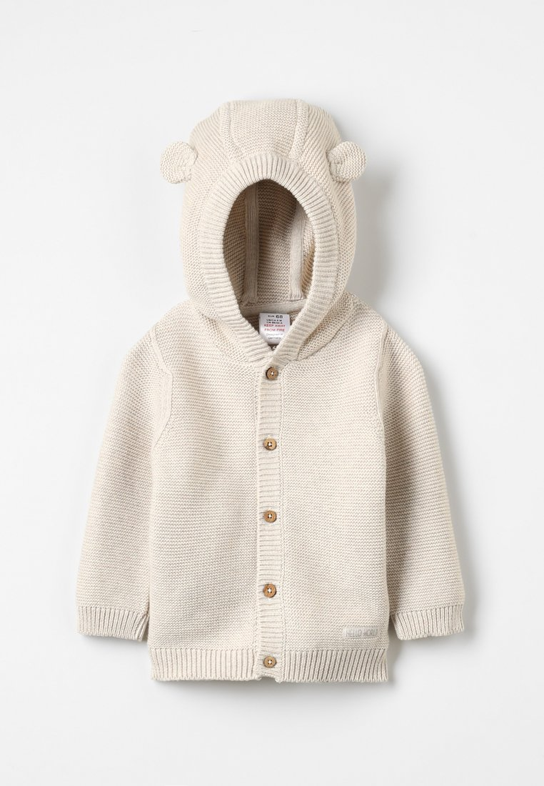 Jacky Baby - HELLO WORLD - Strickjacke - beige