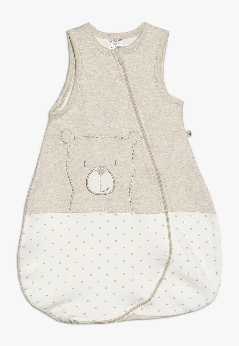 Jacky Baby - SLEEPING BAG HELLO WORLD - Slaapzak - beige melange