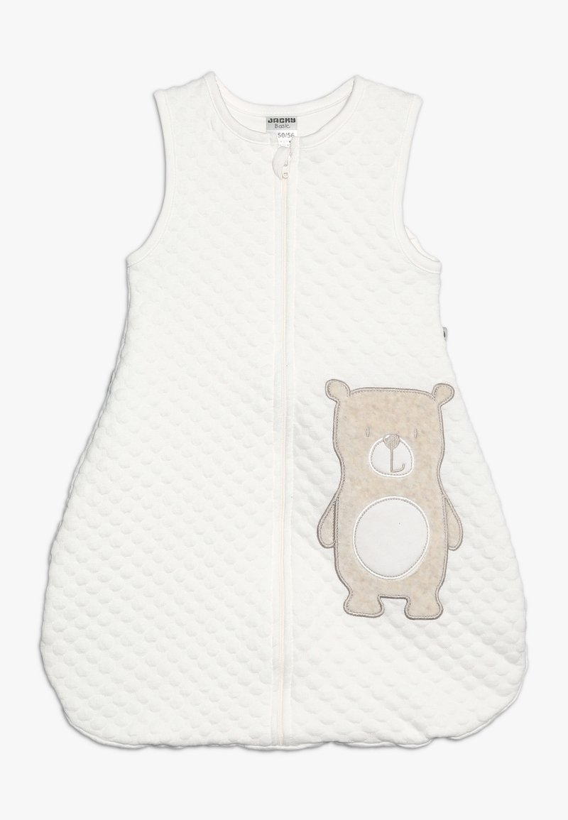 Jacky Baby - SLEEPING BAG HELLO WORLD - Pijama saco - off white