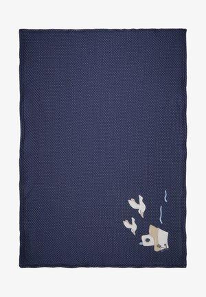 COUCOU MON PETIT - Manta infantil - dunkelblau/hellblau