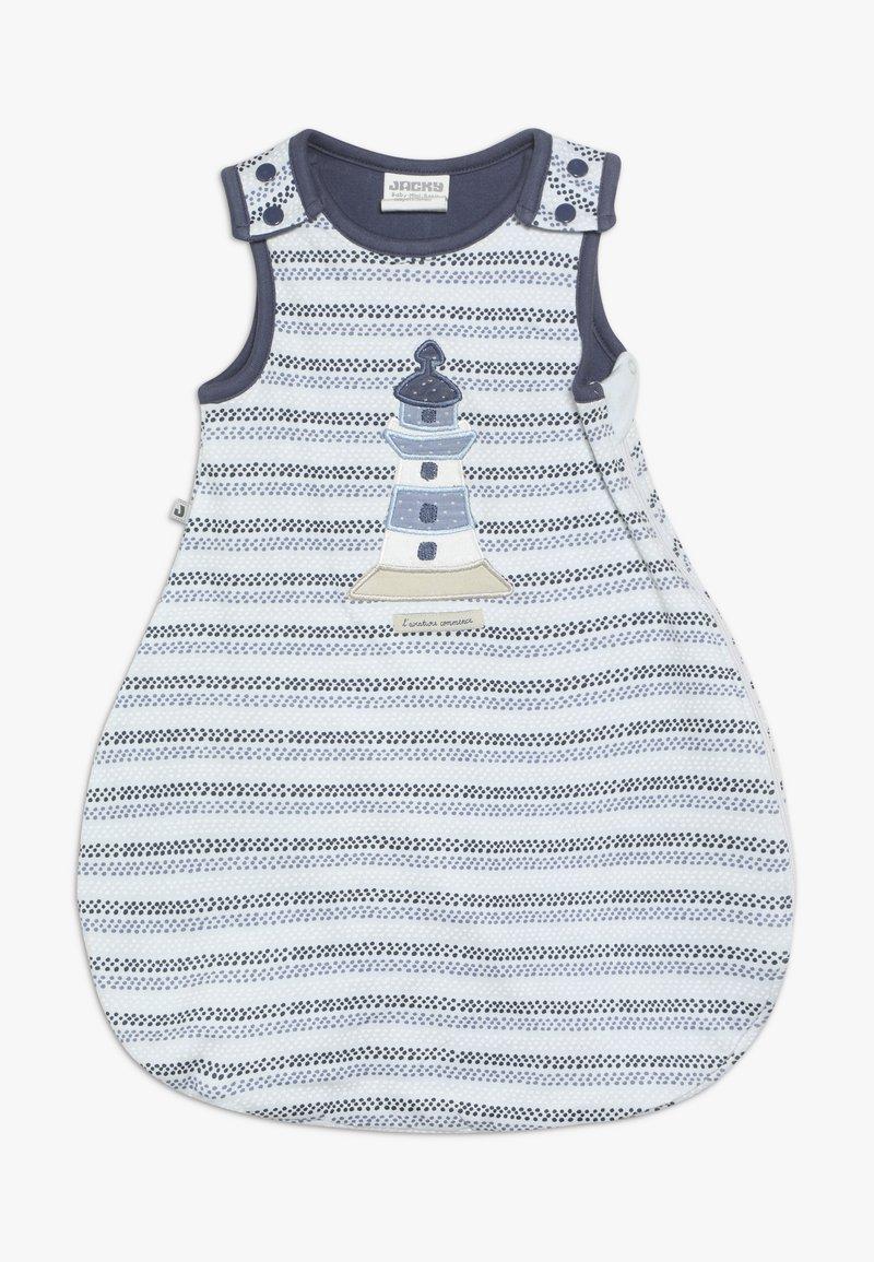 Jacky Baby - UNWATTIERT ÄRMELLOS COUCOU MON PETIT - Dětské oblečení na spaní - blue