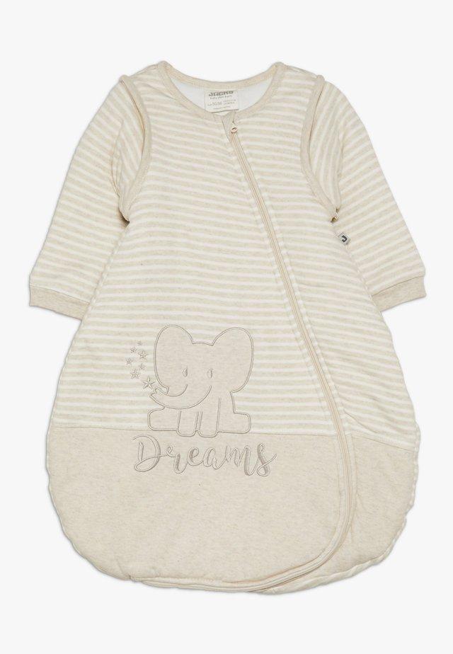 BABY - Geboortegeschenk - beige melange