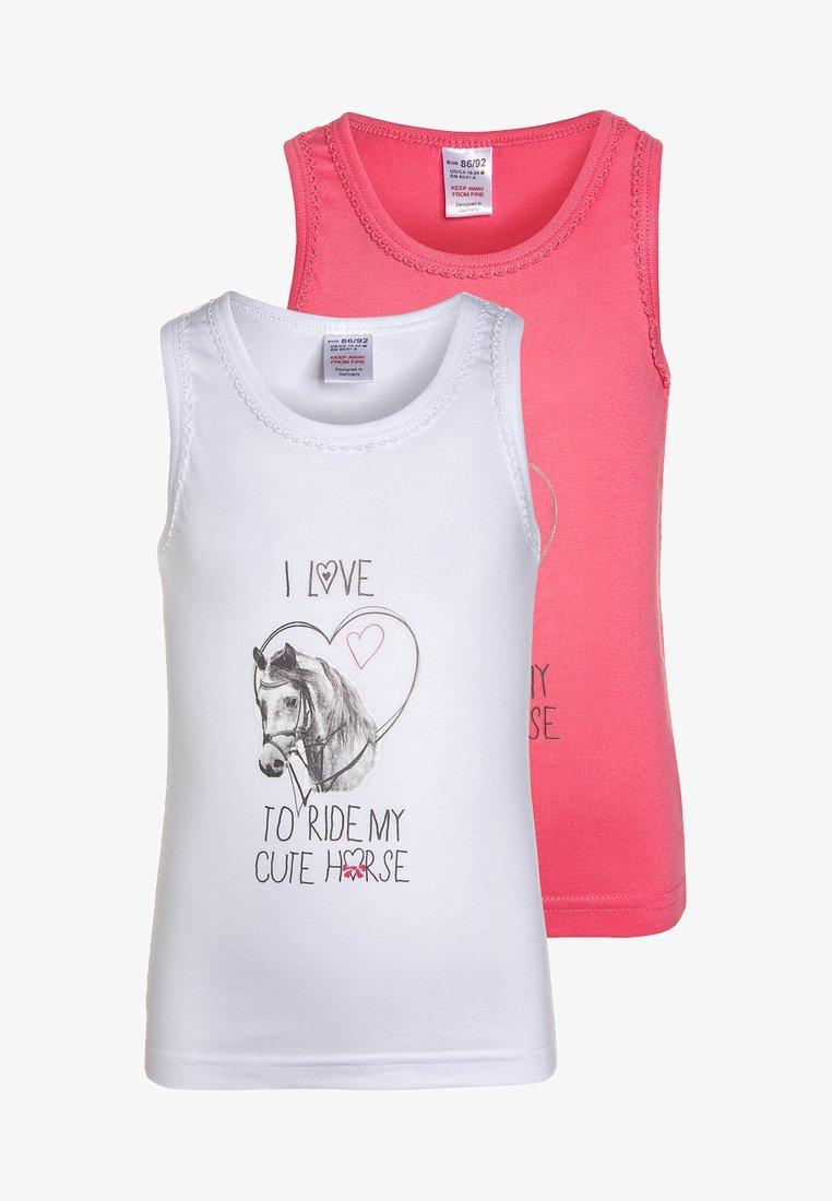 Jacky Baby - 2 PACK - Unterhemd/-shirt - pink