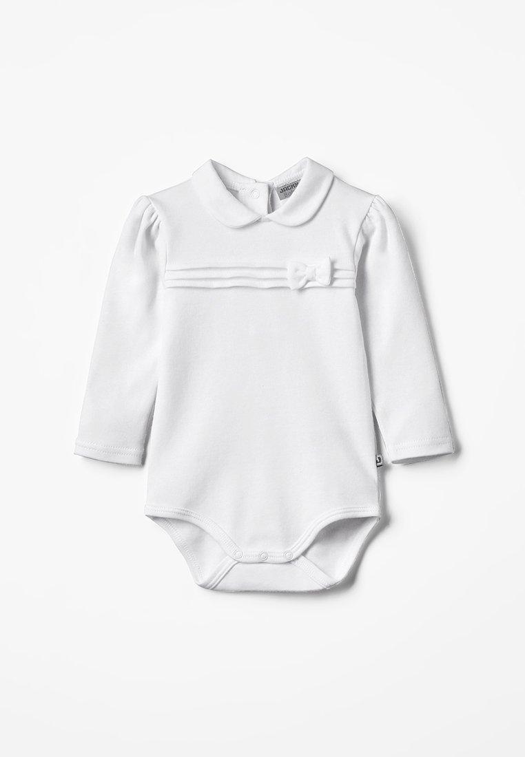 Jacky Baby - LANGARM CLASSIC GIRL BABY - Body - weiß