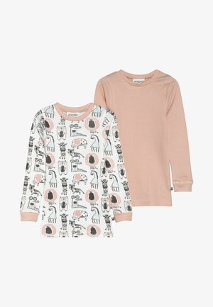 ANIMALS 2 PACK - Tílko - light pink