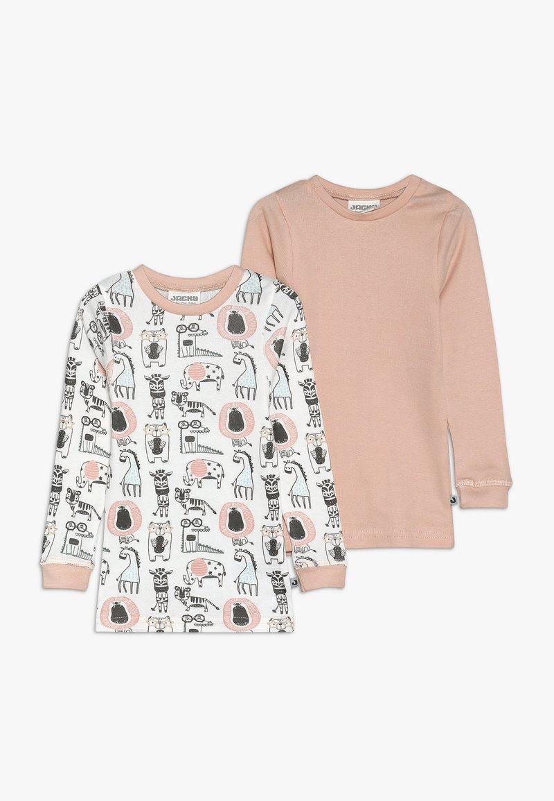 Jacky Baby - ANIMALS 2 PACK - Unterhemd/-shirt - light pink