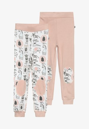 GREEN JOHN ANIMALS 2 PACK - Dlouhé spodní prádlo - light pink