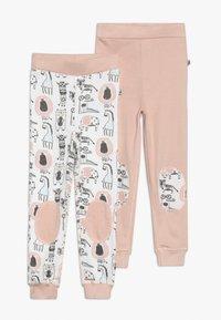 Jacky Baby - GREEN JOHN ANIMALS 2 PACK - Dlouhé spodní prádlo - light pink - 0