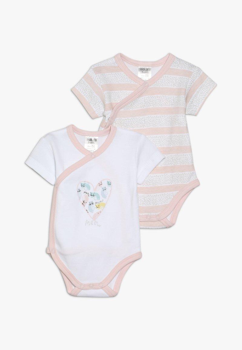 Jacky Baby - GIRLS 2 PACK - Body - light pink