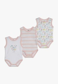 Jacky Baby - ACHSELFORM GIRLS 3 PACK - Body - light pink - 0