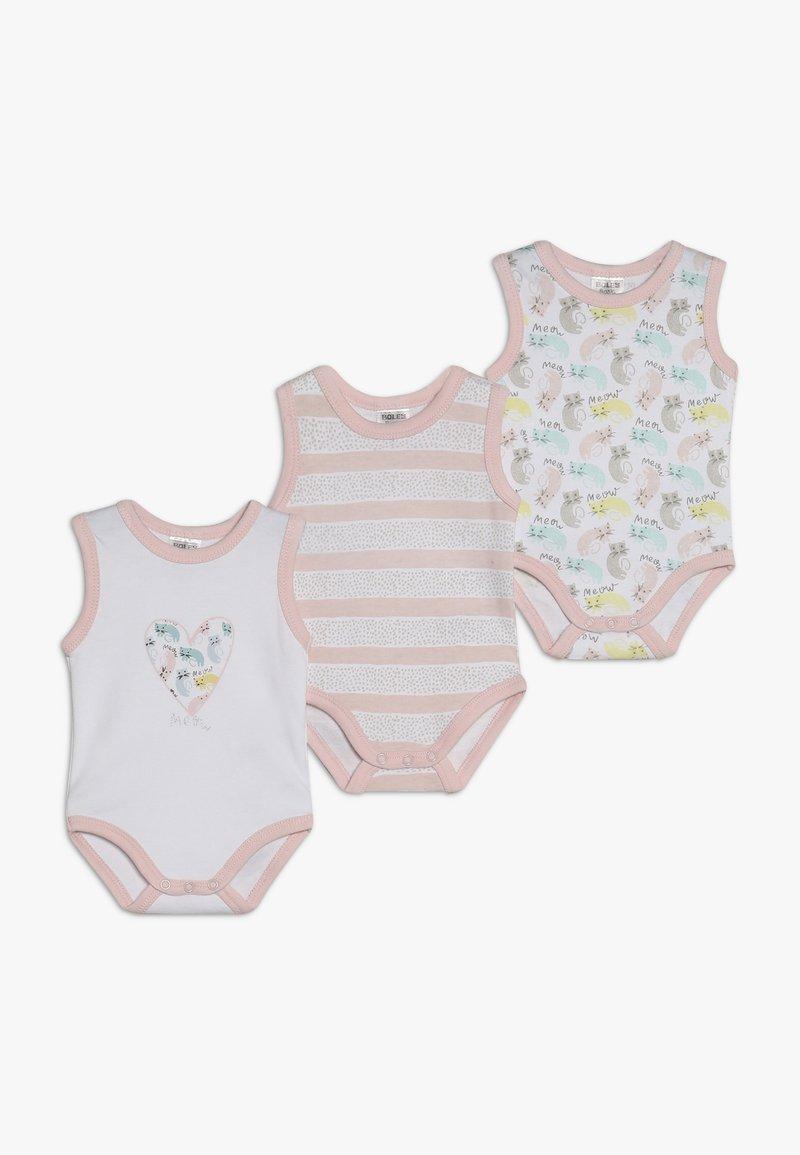 Jacky Baby - ACHSELFORM GIRLS 3 PACK - Body - light pink