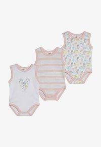 Jacky Baby - ACHSELFORM GIRLS 3 PACK - Body - light pink - 4