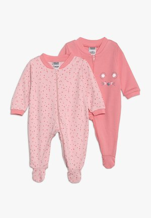 SCHLAFANZUG GIRLS 2 PACK - Pyžamo - light pink