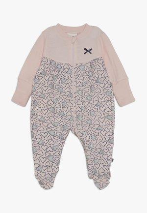 SCHLAFANZUG MIT UMSCHLAGHANDSCHUH KOALA BEAR - Pyžamo - rosa