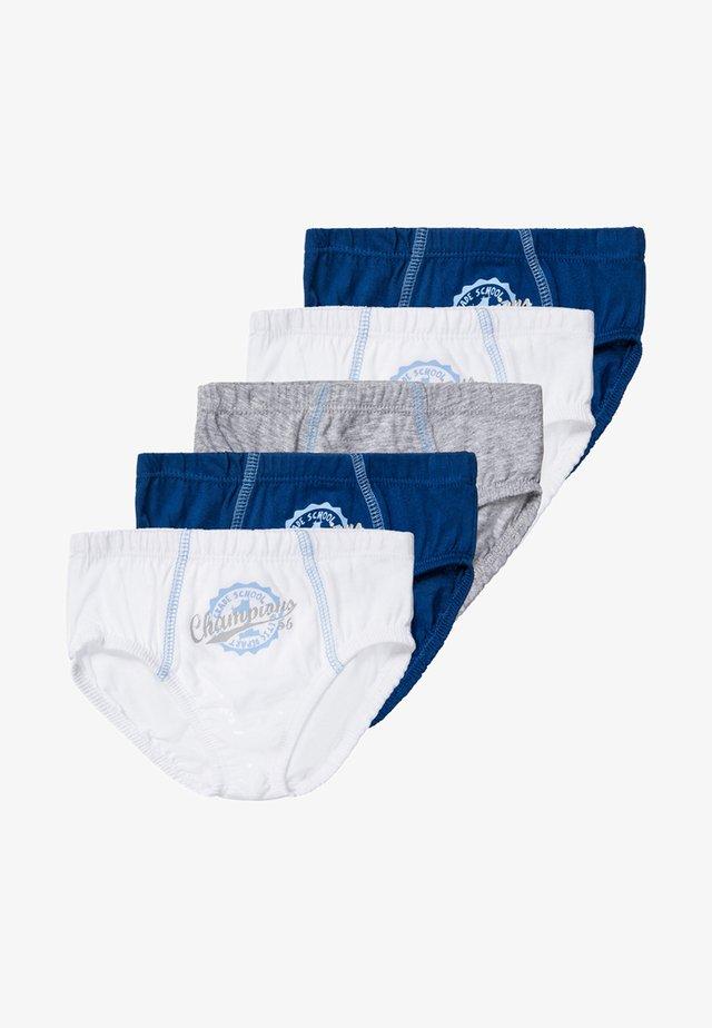 5 PACK  - Slip - blue